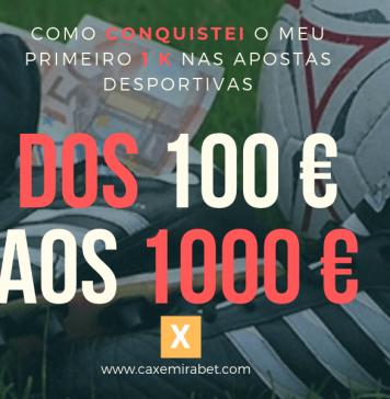 Relato da experiência dos 100 aos 1000 euros
